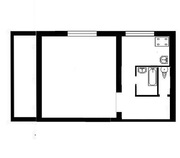 Продается однокомнатная квартира возле рынка