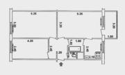 3-х комнатная,  Ялангач( Высоковольтный),  базар Ширин.